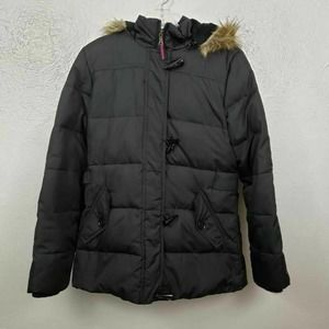 Tommy Hilfiger Jacket Black down puffer coat Sm
